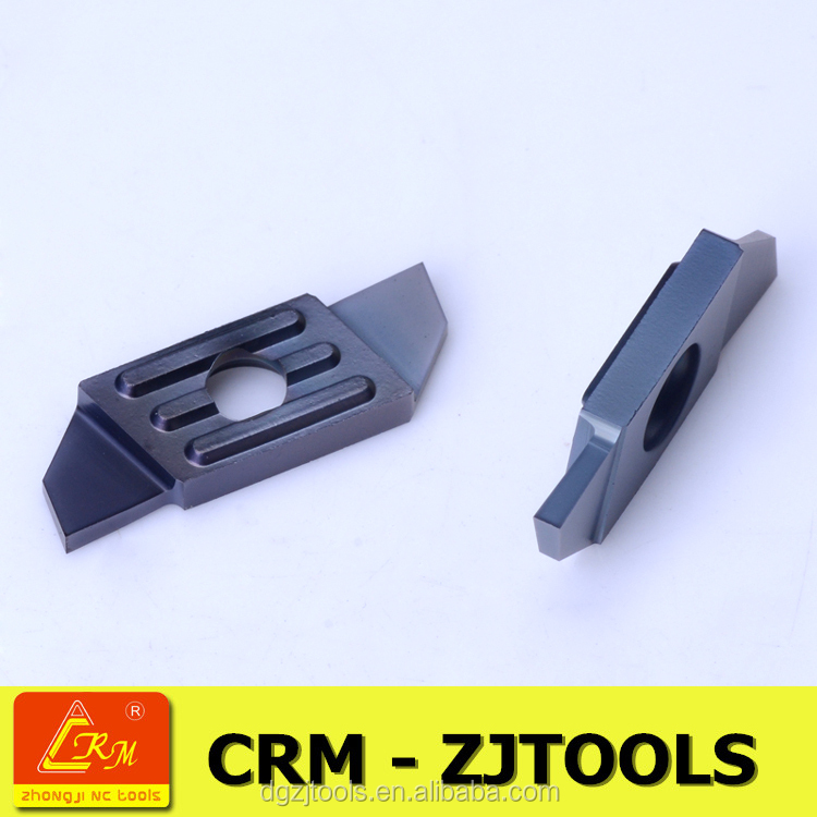 crm zjtools swiss type stainless steel small component cutting tools insert