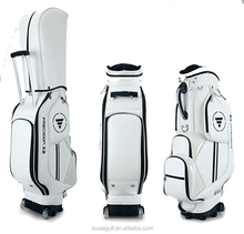PU bag customized golf bag and golf bag with wheels