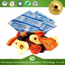 anti-mold food preserver rolling oxygen absorber for dried fruits and vegetables packaging