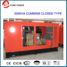 China supplier diesel genset generator 200KVA soundproof generator for hotel