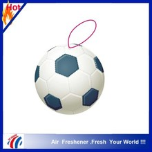 football ball shape car air freshener