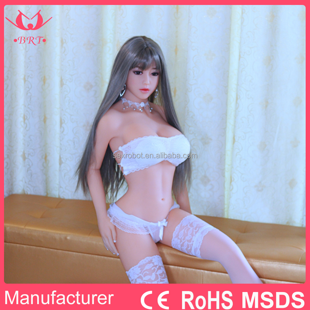 Life Size Plastic Sex Doll for Men 165CM Realistic Love Doll with MSDS CE ROHS