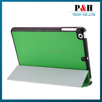 Ultra Thin Design Luxury Top Leather Case For iPad Mini Smart Cover Magnetic