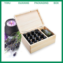 custom design 16 bottles essential oil packaging box with custom design logo