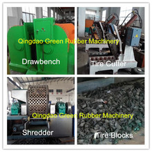 Rubber Crumb Machine Waste Tyre Recycling Plant