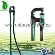 Plastic water irrigation system equipment micro rotating jet sprinkler