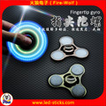 2017 The Most Popular Custom Business Gift LED Flashing Hand Spinner Manufacturer China