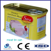 China wholesale custom fish meat tin can