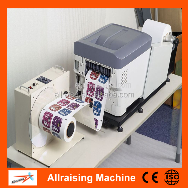 Digital Automatic Roll To Sticker Label Printing Machine