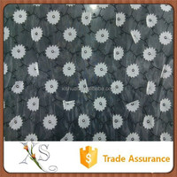 Nice Design Tulle Laser Embroidery Fabric