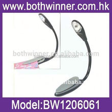 Super Bright LED Clip Read Reading Book Light,H0T0185 led flat reading light