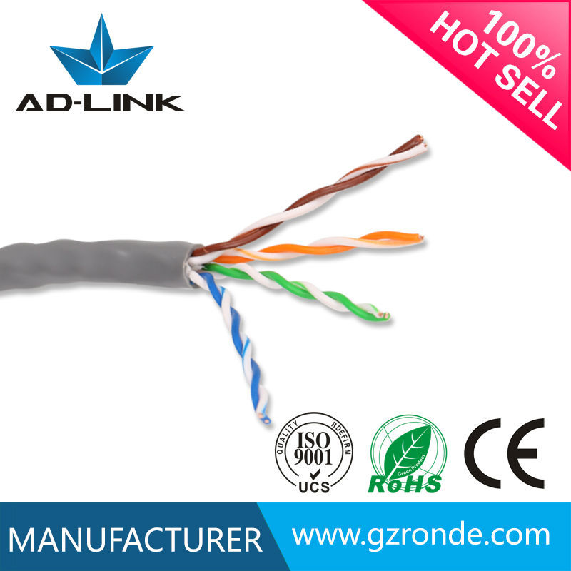 Wholesale best price 4 pairs twisted pair UTP cat5e home network