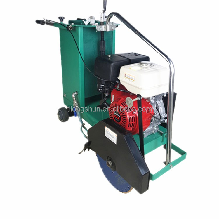 Electri asphalt floor road used cutting machine concrete saw