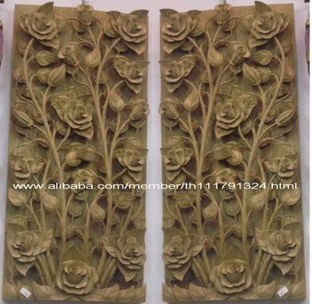 Wood Window Carving 2