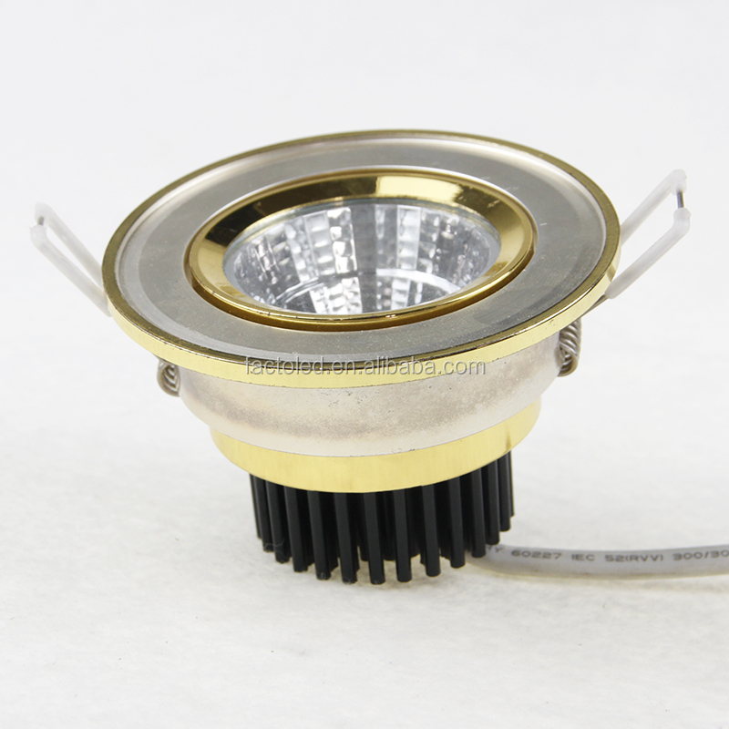 Factory 5w led cob downlight spotlight with CE TUV Rohs from China