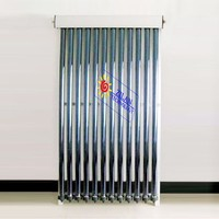 solar energy collector type glass evacuated tube solar collector for swimming pool heater