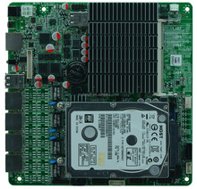 with 4 gugabit Bay trail SOC J1800 MINI ITX 4 LAN Motherboard for Firewall Router