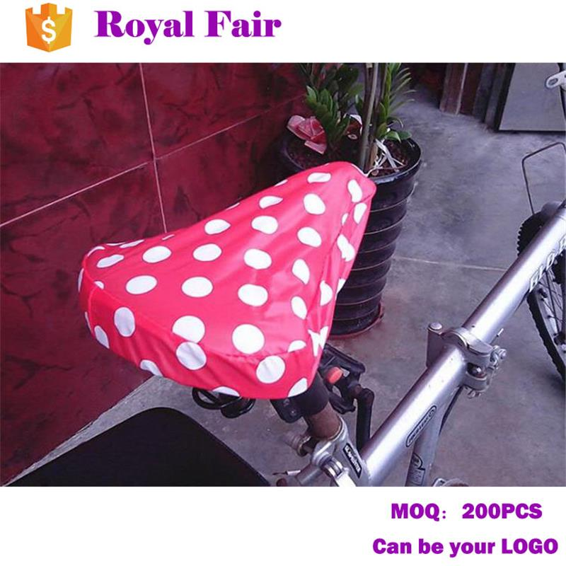 Promotional Waterproof Dots Printed Bike Seat Cover