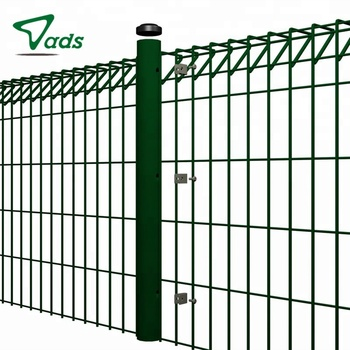 Factory price steel roll top brc wire mesh fence