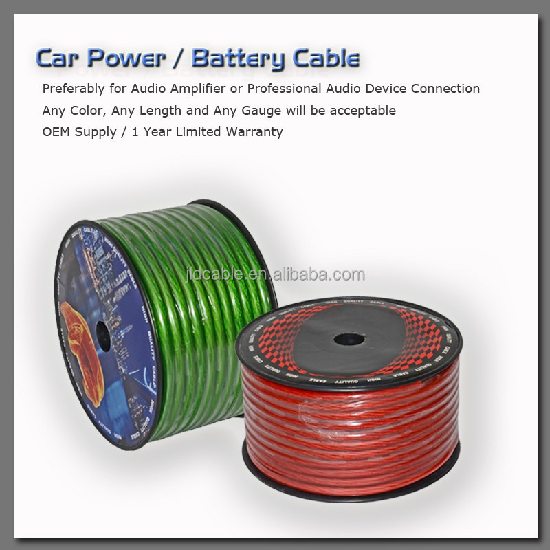 Car Power Cable / Battery Cable 100% OFC