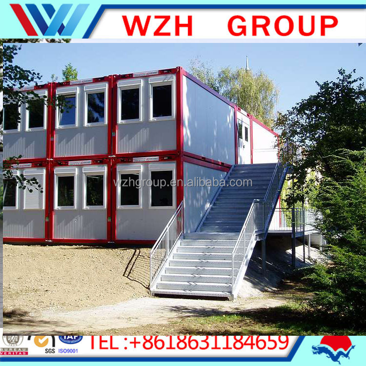 shiping container house, prefabricated residential houses