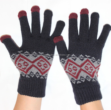 China hotsale amazing winter warm touch screen gloves
