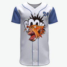 latest design breathable sublimation baseball uniform sportswear