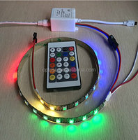 Newest 5V 24key Dream color IR RGB LED pixel controller 80 more changes for led strip module WS2811/WS2812 /WS2812B Light