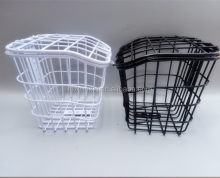 China factory folding bicycle basket/bicycle hanging basket