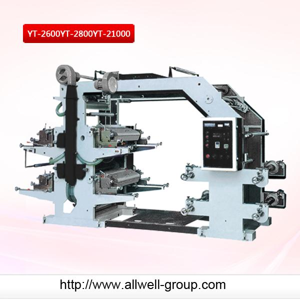High speed CE stack type flexo printing machine