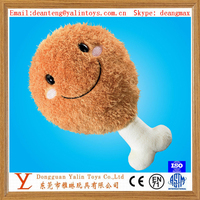 Soft plush toys fast food toys FRIED Chicken Drumstick