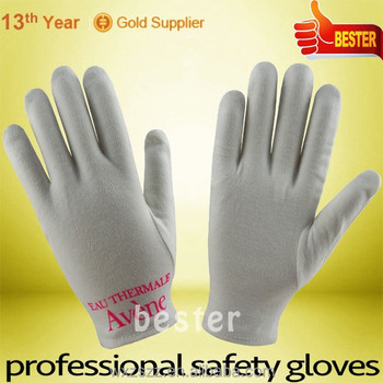 High Performance Print Logo 100% Cotton Moisturing Gloves With Great Low Price