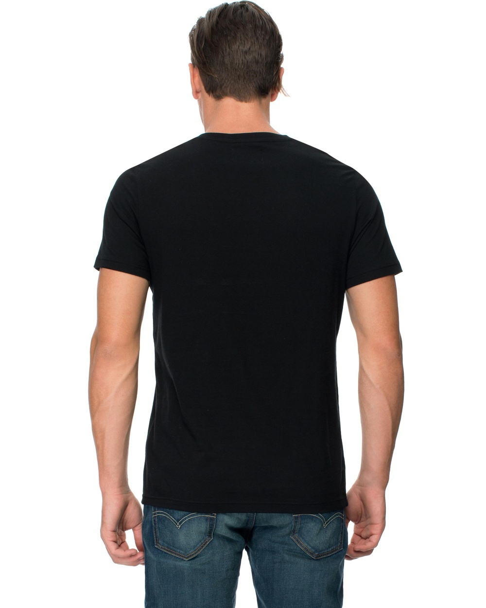 Blank Black V Neck Plain Tshirt Wholesale Buy Plain