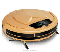home high-efficient vacuum robot cleaner,high-end intelligent robotic vacuum cleaner