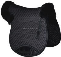 Saddle pad with wing
