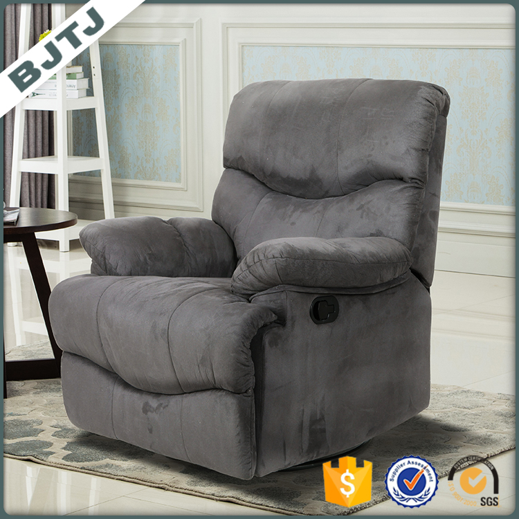 BJTJ recliner grey PU reclining mechanism luxury sofa 70156