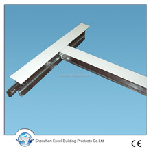 T bar structural steel/ceiling t runner/ceiling grid component