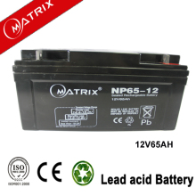 matrix 12v 65ah smf vrla agm battery for inverter with 3 years warranty