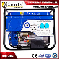 3000 Watt Portable Battery Powered Gasoline Generator Electric for Home