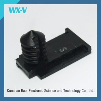 stocks G-110174 on connector WX-V black pa66 clip connector