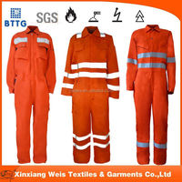 Ysetex fire retardant cotton working coverall