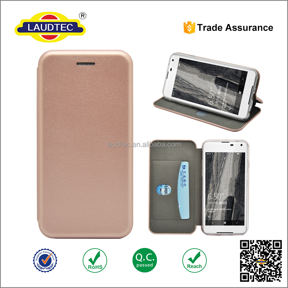 Manufactur full protector Leather case Wholesale flip case for lumia 650 Customize Wallet case leather