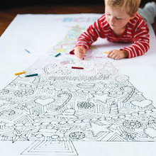 Giant Print Coloring Poster