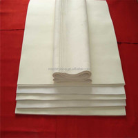 4mm thick white wool felt(free samples )