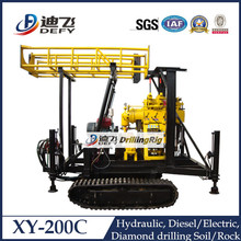 hot in South Africa! XY-200C Track Type Portable Water Drilling Machines