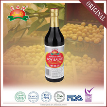 Chinese wholesale brand sugar free superior dark soy sauce 500ml