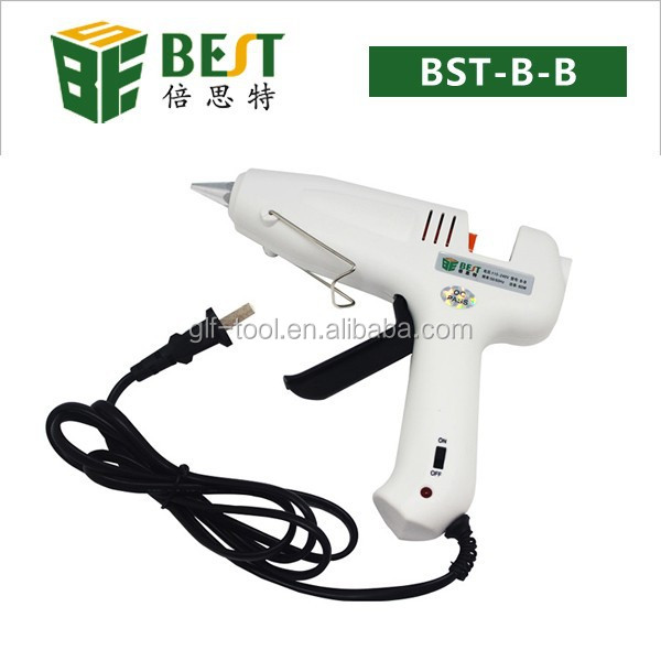 110V/220V Electric Heating Hot Melt Glue Gun Professional for Crafts Repair