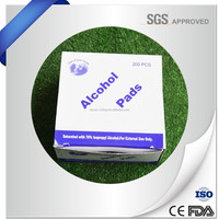 Free sample customized available medical alcohol pad