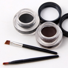 2 color transparent Exquisite eyeliner container for liquid eyeliner
