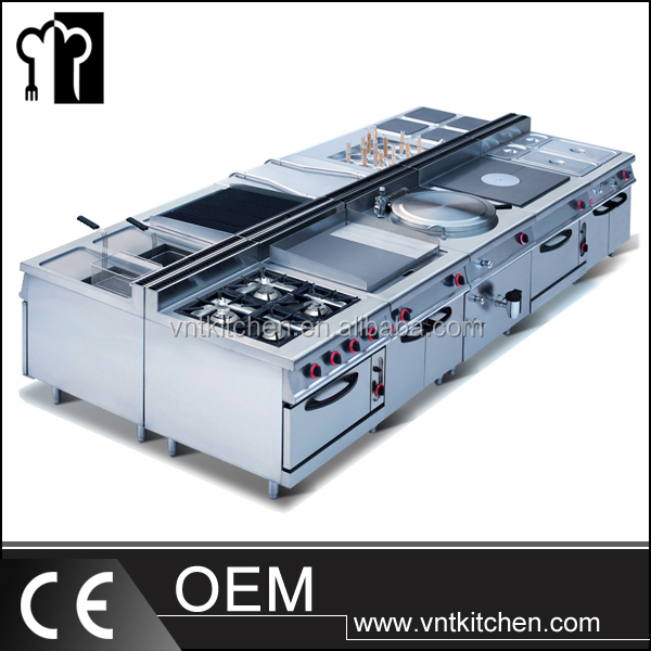 Chinese Restaurant Kitchen Equipment good quality commercial catering kitchen equipment for restaurant